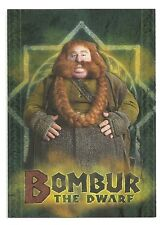 The Hobbit An Unexpected Journey Character Biography CB-15 Bombur The Dwarf