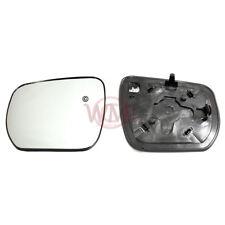 Suzuki Grand Vitara 2006 - > 2009 porte Miroir Verre Argent, chauffé & Base côté gauche