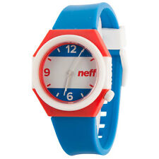 Neff Men's Unisex American Stripe Watch Black
