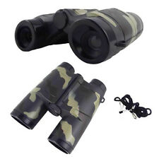 Magnification 4X 35mm Camouflage Children Gift Binocular Telescope Toy N