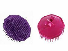 SET OF 6 PCS PLASTIC FINGER HAIR COMB MASSAGING PALM BRUSH/COMB SCALP COMB