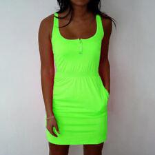 Plus Size Women's Sleeveless Evening Party Beach Summer Casual Short Mini Dress