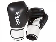 Boxhandschuhe Super Champ, schw./weiß von Kwon, bestes Leder. Boxen, Kickboxen