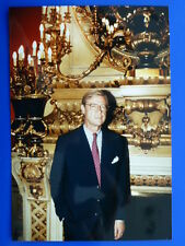 .Adel - Hartmann Freiherr von Richthofen, Autogrammfoto Untersch. RS (m.W.) I