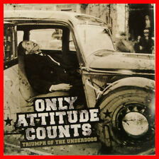 """ONLY ATTITUDE COUNTS - TRIUMPH OF THE UNDERDOGS 12"""" LP + IS (B501)"""