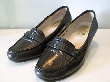 Mocassino elegante in morbida pelle di qualità colore nero Mis.35
