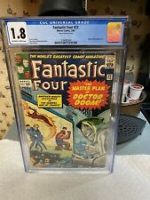"Fantastic Four #23 CGC 1.8..1st App ""TERRIBLE TRIO"".. Master Plan of DOCTOR DOOM"