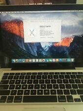 "2010 MacBook Pro 13"" W/ 250 GB HD, 4 GB Ram, 2.4 GHz, Battery & Keyboard Wear"