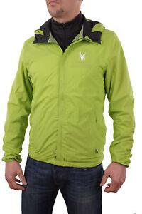 Spyder Men's Functional Jacket Anti-panic Waterproof Green