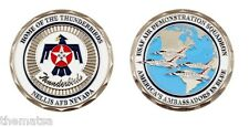 """nellis air force base home of the thunderbirds 1.75"""" challenge coin"""