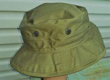 BUSH HAT OLIVE GREEN BRITISH / AUSTRALIAN - MALAYA / VIETNAM REPRODUCTION