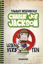 Lesen verboten! / Charlie Joe Jackson Bd.1 von Tommy Greenwald (2013, Gebundene Ausgabe)
