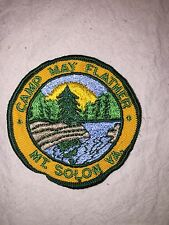 Vintage Girl Scout Camp May Flather Patch Mt Solon VA Nations Capital Council