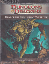 Dungeons & Dragons D&D King of the Trollhaunt Warrens 11-13th Level