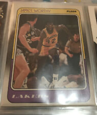 1988 - 1989 Fleer James Worthy Los Angeles Lakers #70 Basketball Card