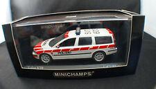 "Minichamps ◊ Volvo V70 ""Kantonspolize Schwyz "" ◊ 1/43◊ boxed/en boîte"