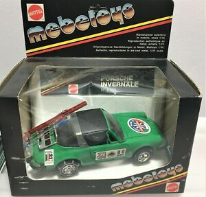 RARE BOXED * Mebetoys *Porsche Invernale- Skis & Snow Chains *N-6705*1:25 Scale