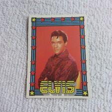 1978 Monty Gum - ELVIS PRESLEY - Club Card From Holland - (Blank Back) - Card #2