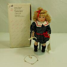 Marie Osmond Collection, Gabriela (C8772) 1992 Annual Edition, Porcelain Doll