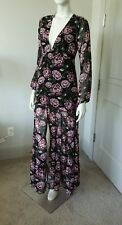 Forever 21 Floral Long Sleeve Ruffled Maxi Dress Sz S NWOT