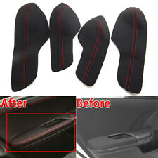 For Honda 10th Civic 16-18 Car Door Armrest PU Leather Surface Cover Shell Trim