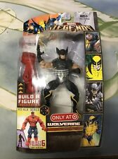 Marvel Legends 2007 Black Wolverine BAF Red Hulk