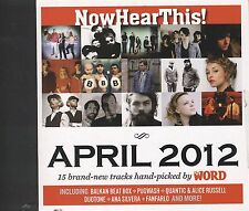 Now Hear this APRIL 2012 CD 15 Tracks