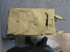 PRE WWI US M1910 FIRST PATTERN HAVERSACK &MEATCAN POUCH-ROCK ISLAND ARSENAL 1913
