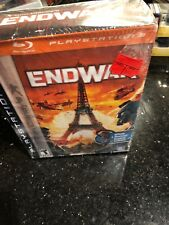 Tom Clancy's EndWar Sony PlayStation 3 2008 PS3 Bluetooth Headset New Sealed Box