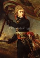 GROS JEAN ANTOINE BONAPARTE BRIDGE ARCOLE ARTIST PAINTING OIL CANVAS REPRO ART