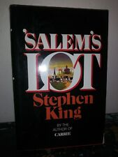 Stephen King Salem's Lot Early Edition Book 1975 Hardcover DoubleDay
