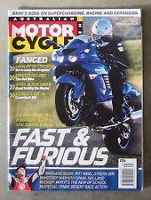 Motorcycle News AMCN July 2006 - ZX14 BENELLI TRE BIMOTA DB6 APRILIA RSV BOLWELL