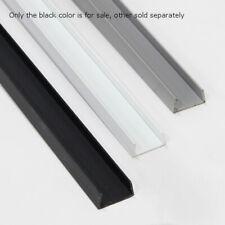 Black Slatwall Top Or Bottom Trim 8 Feet Long