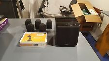 Mirage MM-5.1 Home Theater Speaker System with wall mounts. Mirage MM-6 sub