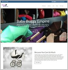 BABY STROLLERS Website|Upto $92.10 A SALE|FREE Domain|FREE Hosting|FREE Traffic