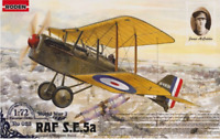Roden 023 - British RAF S.E.5A with HISPANO SUIZA  - 1/72 scale model kit 125 mm