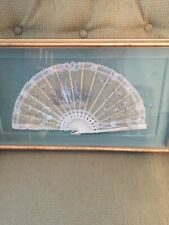 Antique French Painted Silk Fan