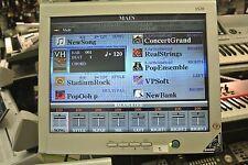 Monitor(Typ 1)  für Keyboards YAMAHA PSR-S970 Tyros 2 3 4 5 auf STATIV  K0914