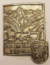 Zell an See, AustriaWalking Stick Stocknagel, Hiking Medallion, Badge, NOS154