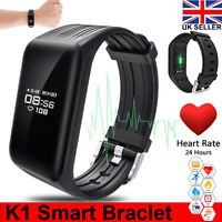 Smart Watch Bracelet Heart Rate Blood Pressure Monitor Wristband Fitness Tracker