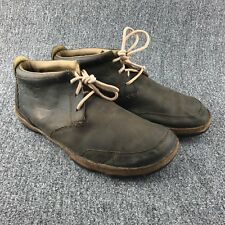 Mens Size 10 Olukai Brown Leather Kamuela Chukka Boots