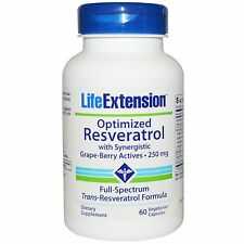 Life Extension - Optimized Resveratrol w/Nicotinamide Riboside, US-SELLER