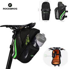 Rockbros Bike Bag Rear Carrier Bag Rear Pack Trunk Pannier Black High Quality C7