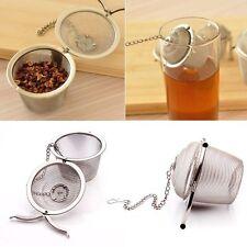 Stainless Steel Kitchen Tea Ball Strainer Mesh Infuser Filter Spice