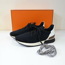 HERMES MENS MILES SNEAKERS TRAINERS SIZE 42 - boxed