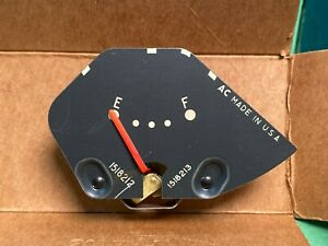 1955 Buick Gas Gauge for Series 40-60 P/N 1518212 Gr. 3.108 NOS