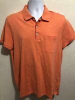 Armani Exchange A/X Mens Short Sleeve Polo Shirt Sz L