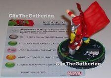 RAGNAROK #053B 53B Avengers Assemble Marvel HeroClix Super Rare Prime Thor robot