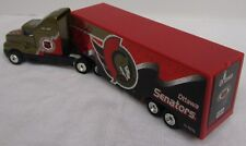 "NHL 2000 Ottawa Senators Truck Trailer Metal Die Cast Scale 1:80 7 3/4"" X 2"""