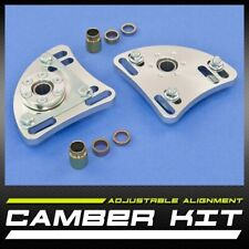 New Pair Left & Right ¦ Front Camber & Caster Kit ±2.50 ¦ Mustang 3-Bolt Mount